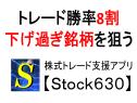 『Stock630(ストックロクサンマル)』が勝率8割の下げ過ぎ銘柄をお知らせします